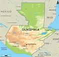 Road Map of Guatemala and Guatemala Road Maps
