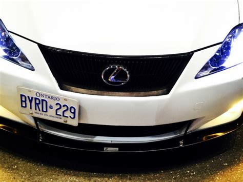2007-2010 Lexus Is300 Front Splitter