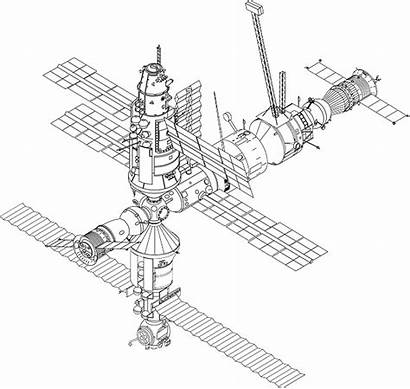 Space Station Iss International Svg Vector Graphic