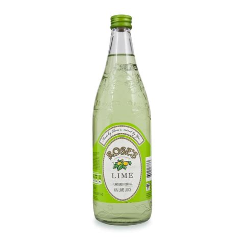 lime cordial rose s lime cordial drink 750ml woolworths co za