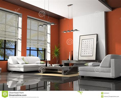 Home Interior 3d Stock Image  Cartoondealercom #10711459