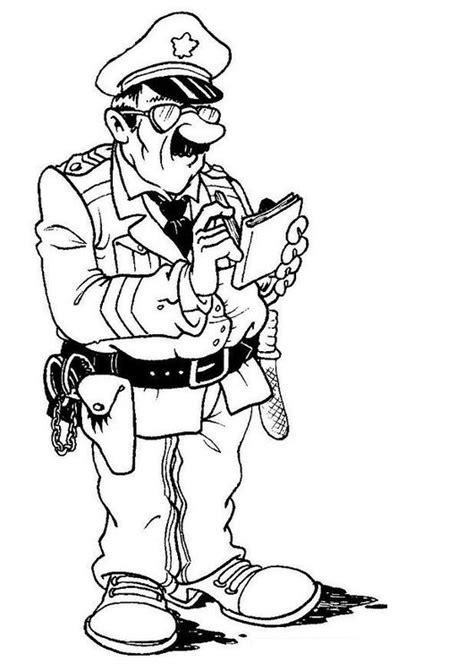 Malvorlage Polizist  Ausmalbilder Von Polizei Malvorlagen