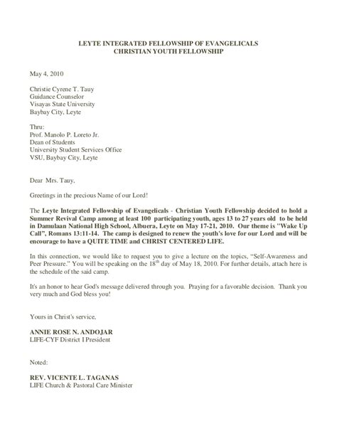 cyf speakers invitation letter