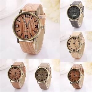 Vintage Uhren Damen : damen mode geschenk uhren vintage holzmaserung quarz kreativ uhr armbanduhr ebay ~ Watch28wear.com Haus und Dekorationen