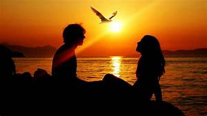 Romantic Sunset Love Couples wallpaper | other | Wallpaper ...
