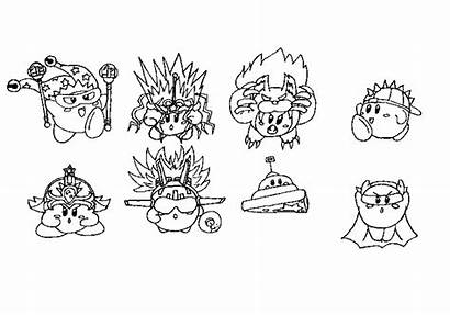 Kirby Concept Coloring Deviantart Abilities Pages Kood
