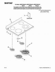 Maytag 30 U0026quot  Electric Range Parts