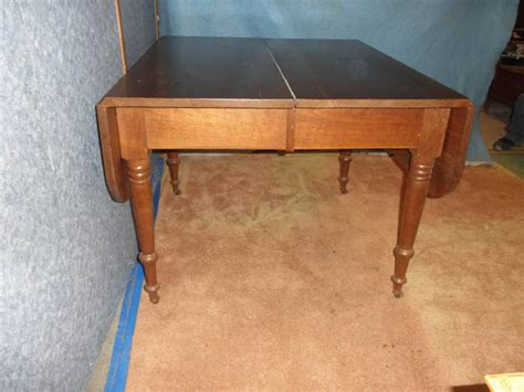 antique drop leaf table value b2557 antique solid walnut drop leaf table for sale