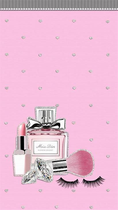 Wallpapers Chanel Makeup Pink Aesthetic Dior Backgrounds