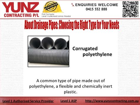 About Drainage Pipes Choosing The Right Type For Your Needs
