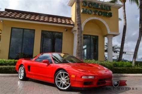 free service manuals online 1999 acura nsx parking system buy used 1999 acura nsx 1 of 50 produced alex zanardi edition rare collectible excellent in