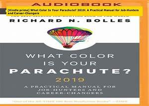 Epub What Color Is Your Parachute  2019  A Practical