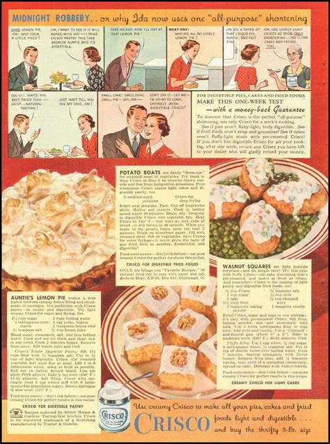 cuisines vintage 25 best images about 1930s food recipes on