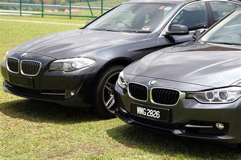 Comparison 2012 Bmw F10 5 Series Vs F30 3 Series  Bmw Post
