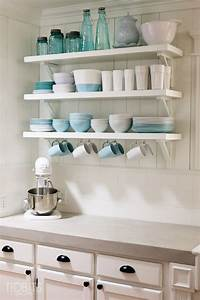 Smart, Open, Shelf, Kitchen, Tips, For, Achieving, Functionality, And, Style