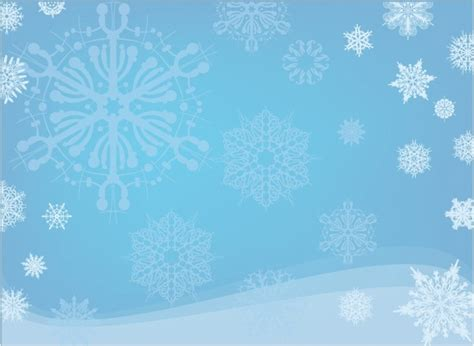 Blue Snowflake Background Clipart by Blue Snowflake Background Free Vector In Adobe Illustrator