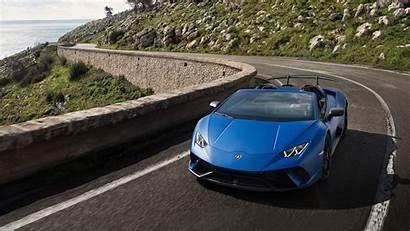 Performante Lamborghini Spyder Wallpapers Huracan Huracan