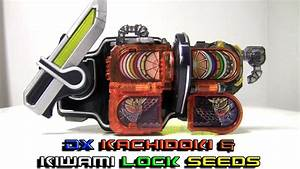 [1080P HD] DX Kachidoki & Kiwami Lock Seed Set Review ...