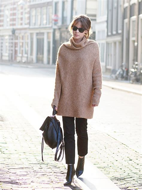 sweaters to wear with 50 ways to wear a turtleneck sweater closetful of clothes
