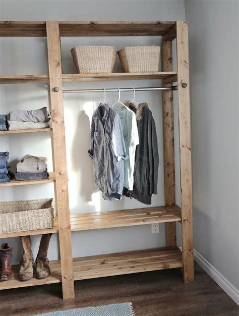 wood closet shelving wood closet shelves closet remodel