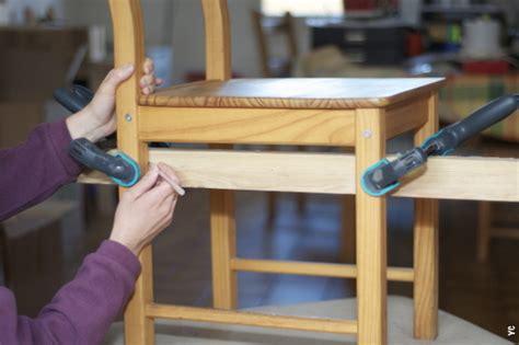 comment tapisser une chaise comment fabriquer une chaise en bois 28 images comment