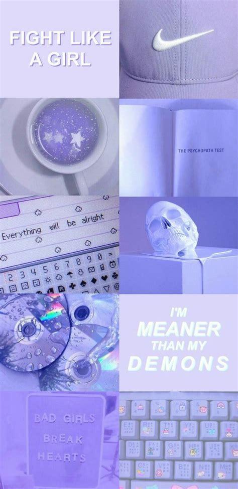 wallpaper hp gambar aesthetic warna ungu
