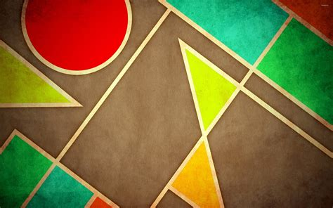 Abstract Geometric Shapes Wallpaper by 47 Geometric Shapes Wallpaper On Wallpapersafari