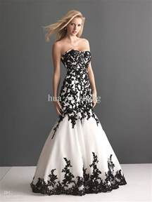 and black bridesmaid dresses vintage wedding dresses with black lace sangmaestro