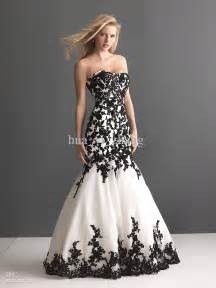 black gowns for wedding 30 black and white wedding dresses combination fashion fuz
