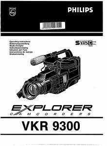 Philips Camcorder Vkr 9300 User Guide