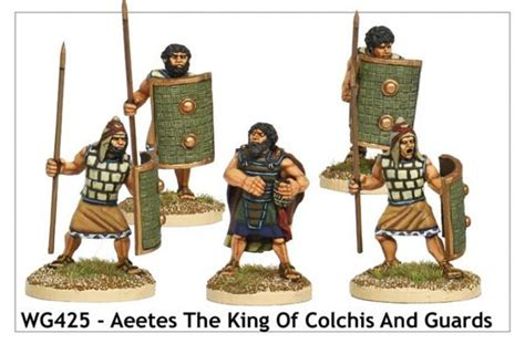 aeetes  king  colchis  guards wg casting