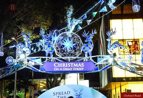 christmas light   orchard road singapore hotel boss