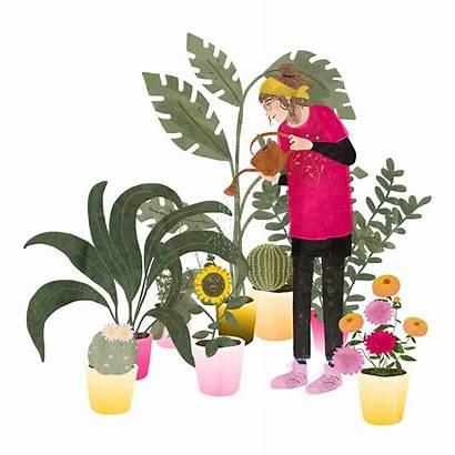Lara Plants Paulussen Happy Larapaulussen Behance Gifs