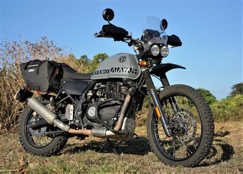 Modification Royal Enfield Himalayan by This Lightweight Royal Enfield Himalayan Scrambler From
