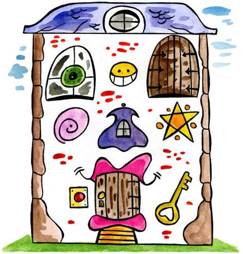 dessin comptine je fais le tour de la maison dessin