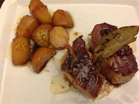 cuisiner une rouelle de jambon rouelle de porc caramélisée blogs de cuisine