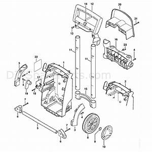 Stihl Re 128 Plus Pressure Washer  Re 128 Plus  Parts Diagram  Chassis