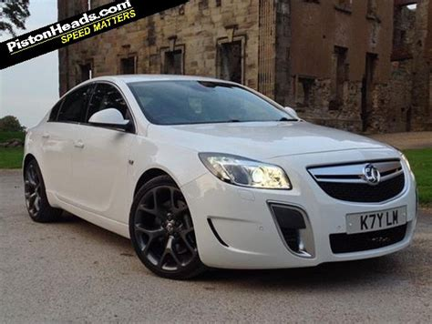 vauxhall insignia white vauxhall insignia vxr spotted pistonheads
