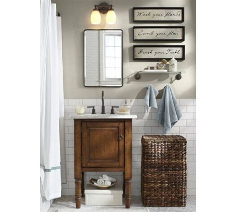 pottery barn vintage recessed medicine cabinet 1000 images about boy s bathroom on