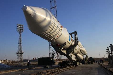 Russia Launches Proton Rocket With Military Satellite