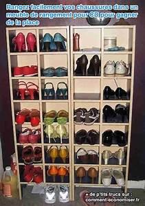 Idee Rangement Chaussure : idee rangement chaussures dans garage ~ Teatrodelosmanantiales.com Idées de Décoration