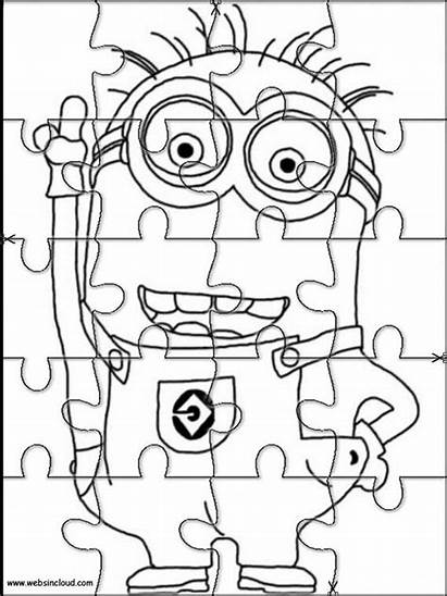 Puzzle Printable Jigsaw Coloring Pages Puzzles Activities
