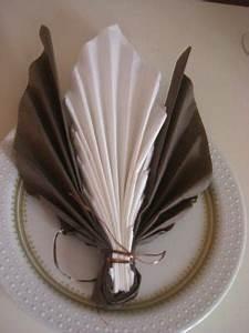 Pliage De Serviette En Papier Facile : pliages de serviettes page 8 ~ Melissatoandfro.com Idées de Décoration