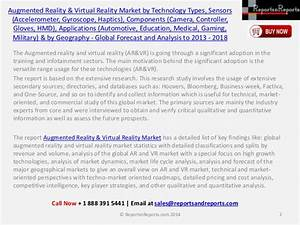 Augmented Reality & Virtual Reality Market (Accelerometer ...