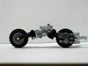 Lego Batman Custom BATPOD From The Dark Knight Movie YouTube