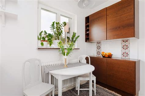 kitchen nook furniture studio apartment excels in space efficiency with its