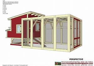 home garden plans: L100 - Chicken Coop Plans Construction