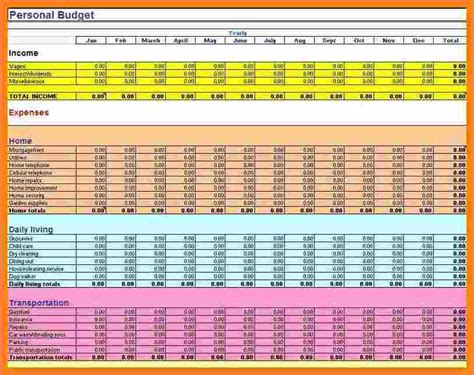 7+ Sample Budget Spreadsheet Excel  Excel Spreadsheets Group