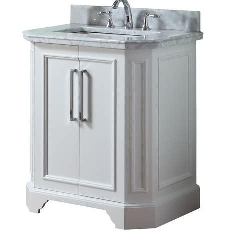 allen roth vanity cabinets shop allen roth delancy white undermount single sink