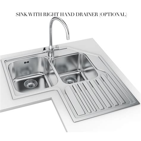 stainless steel corner kitchen sink franke studio stx 621 e stainless steel corner inset sink 8232